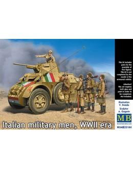 Italian military men, WWII era