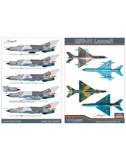 Decal MiG-21 Lancer
