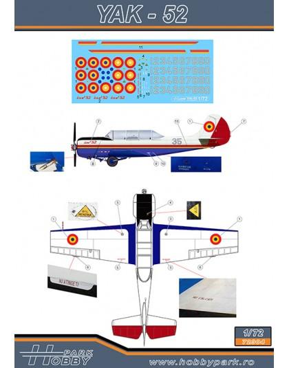 Decal Yak-52