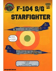Decal F-104 S/G STARFIGHTER