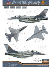 Decal 1/48 F-16AM/BM (F.A.R.)