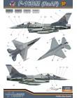 Decal 1/48 F-16AM/BM (F.A.R.)
