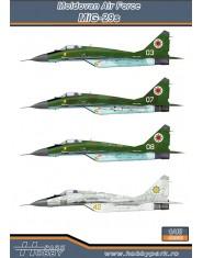 Decal MiG-29 MOLDOVA