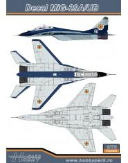 Decal MiG-29A/UB