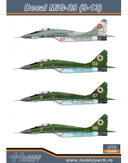 Decal MiG-29 (9-13)