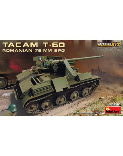 ROMANIAN 76-mm SPG TACAM T-60
