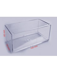 Plastic transparent case 140x70x65