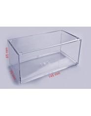 Plastic transparent case 140x70x65