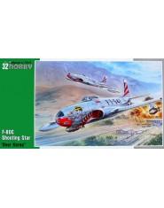 """F-80C Shooting Star """"Over Korea"""""""