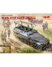 Sd.Kfz.251/6 Ausf.A with Crew