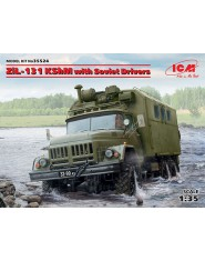 ZiL-131 KShM with Soviet Drivers