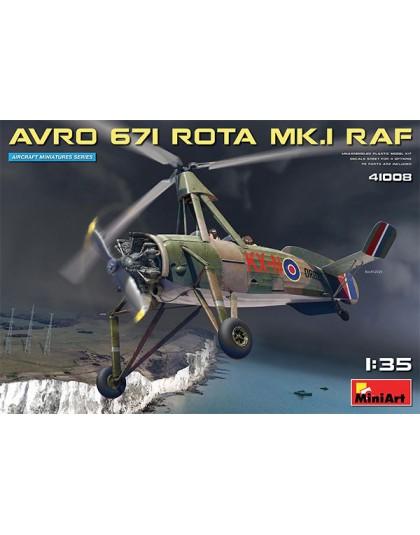 AVRO 671 ROTA MK.I RAF