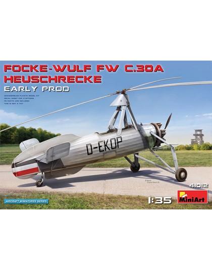 Focke Wulf FW C.30A Grasshopper (Early pod)