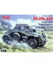 Sd.Kfz.222 WWII German armored car