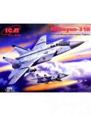 MiG-31 Foxhound Soviet heavy fighter-interceptor