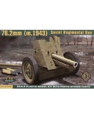 Soviet 76mm Regimental Gun Mod. 1943