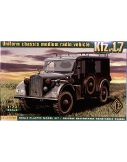 Kfz.17 - uniform chassis medium radio vehicle
