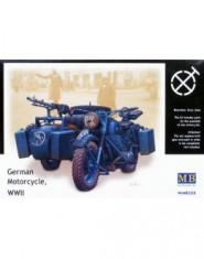 WWII German motorcycle