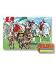 Carolingian Cavalry / 12 fig. + 12 cai /