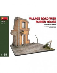 VILLAGE ROAD w/RUINED HOUSE