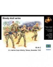 ,,Bloody Atol,, US Marine Infantry, Tarawa, 1943