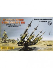 S-125M Neva / SA-3 GOA Soviet air defense system + Resin parts
