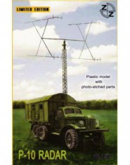 P-10 Soviet radar vehicle + Phpto etched