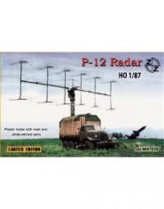 P-12 Soviet radar vehicle + Resin parts + Photo etched