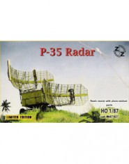 P-35 Soviet radar vehicle ( Resin parts + Photo etched)