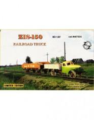 ZiS-150 Soviet railroad truck + Photo etched