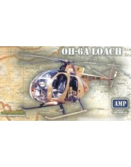 Hughs OH6A Loach Post War US Army Helicopter