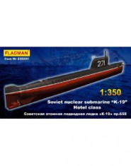 Soviet nuclear submarine ,,K-19,, WWII