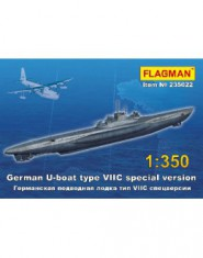 German U-boat type VII C special version Submarine WWII