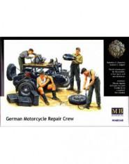 German Motorcycle Repair Crew w/ BMW R75