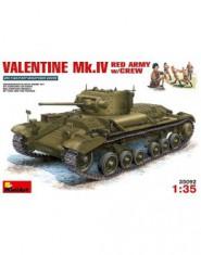 VALENTINE Mk.IV RED ARMY w/CREW