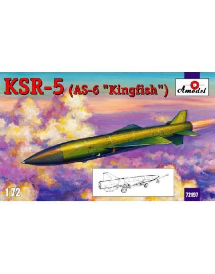 KSR- 5 (AS-6 ,,Kingfish,,) long-range anti-ship missile