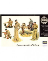Commonwealth AFV crew (6 best quality plastic soldiers figures and camel)