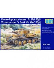 Command tank Pz. 38t