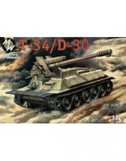 T-34/D-30 Syrian SPG