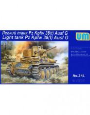 Light tank Pz Kpfw 38(t) Ausf G
