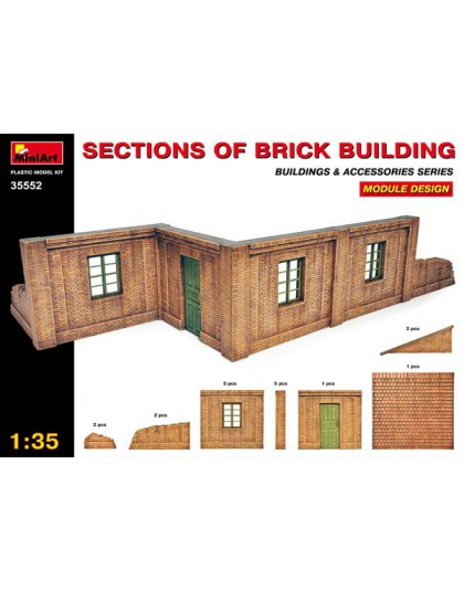 SECTIONS OF BRICK BUILDINGS