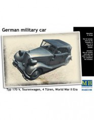 German military car, Type 170 V, Tourenwagen, 4 Turen