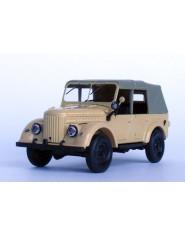 Diecast Model: GAZ-69A w/awning Soviet car (sand)