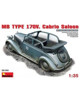 MB TYPE 170V Cabrio Saloon