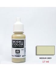 MEDIUM GREY acrilic (17 ml)
