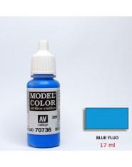 BLUE FLUO acrilic (17 ml)