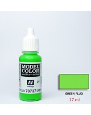 GREEN FLUO acrilic (17 ml)