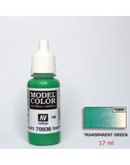 TRANSPARENT GREEN acrilic (17 ml)