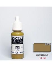GREEN BROWN acrilic (17 ml)