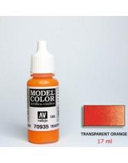 TRANSPARENT ORANGE acrilic (17 ml)